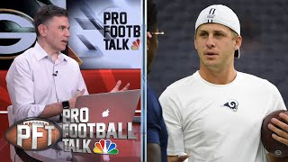 PFT Overtime: Ezekiel Elliott, Jared Goff both get their contracts | Pro Football Talk | NBC Sports