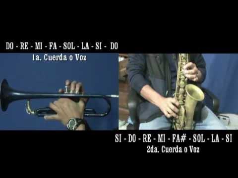 ARMONIA TROMPETA y SAX en DUETO con Las Escalas Musicales