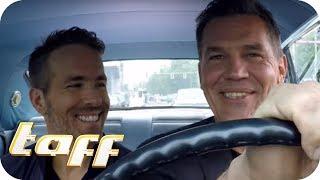 BROMANCE zwischen RYAN REYNOLDS und JOSH BROLIN – Stars in Cars | taff | ProSieben