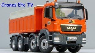 NZG MAN TGS Rear Tipper Truck 'VSI' by Cranes Etc TV