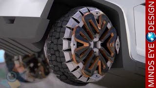 5 INCREDIBLE TIRE DESIGN INNOVATIONS & THE EVOLUTION OF TIRES #2