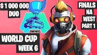 Fortnite World Cup Week 6 Highlights Final NA West Duo Part 1 [Fortnite World Cup Highlights 2019]