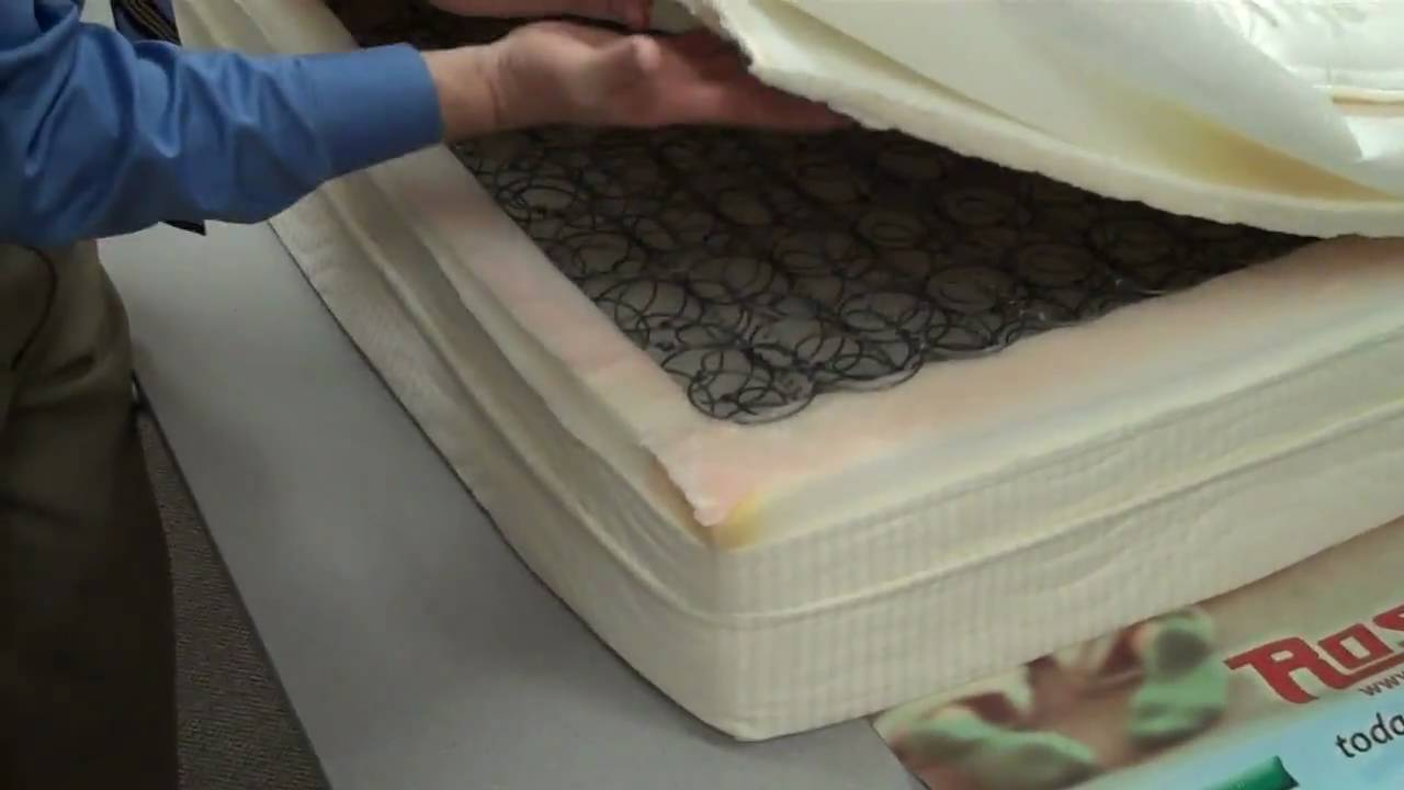 Ratings On Mattresses >> Rosa's Mattress Minute, the inside scoop on single sided ...
