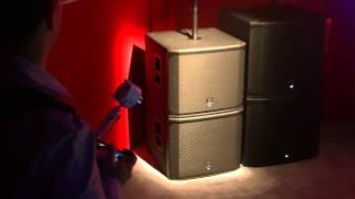 ELECTRO-VOICE EKX-18SP in action