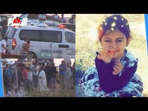"""مشاهد مؤلمة من جنازة """"هبة"""" هكذا ودعت العائلة طفلتها ضحية الحريق"""