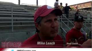 WSU Football: Mike Leach after practice Aug. 14