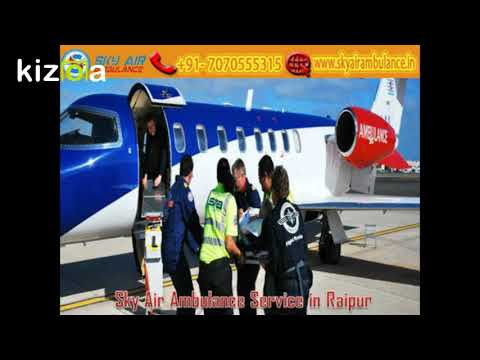 Receive Sky Air Ambulance at an Economical-Cost in Ranchi