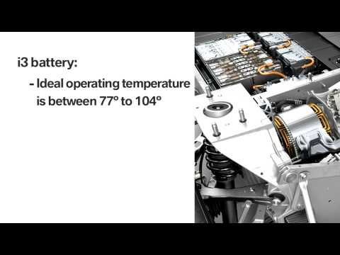 BMW i3 Battery Performance in ambient temperatures