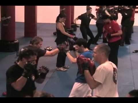 AKKA's Fitness Kickboxing Program Class Sample