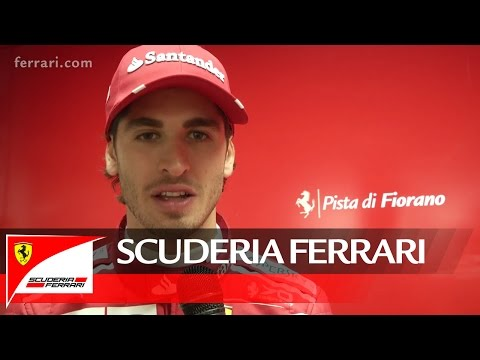 Ferrari SF70H - Antonio Giovinazzi