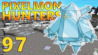 [97] The Titan Of Ice - Regice! 90% Pokedex Completion! (Pixelmon Reforged Gameplay S2)