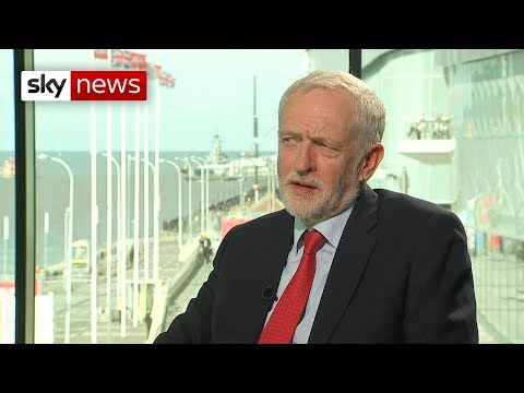 Jeremy Corbyn says Labour Party won't rule out 'remain' option in second vote