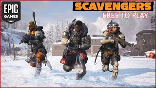 The New Battle Royale Games! SCAVENGERS Free To play on Epic Games