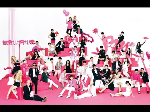 KPOP Evolution (SM Entertainment Artists Evolution) - Until 2016