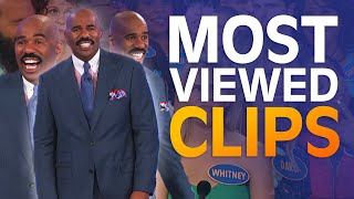 TOP 10 MOST-VIEWED MOMENTS EVER!   Family Feud