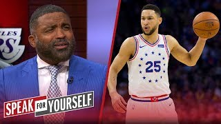 Cuttino Mobley on Ben Simmons' shooting struggles: 'He's no LeBron' | NBA | SPEAK FOR YOURSELF