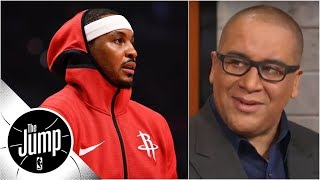 Rockets source says Carmelo Anthony 'is a scapegoat' - Marc J. Spears | The Jump