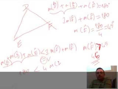 Üçgende Açılarla İlgili Soru Çözümleri Videosu