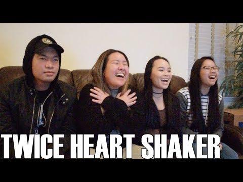 TWICE (트와이스)- Heart Shaker (Reaction Video)