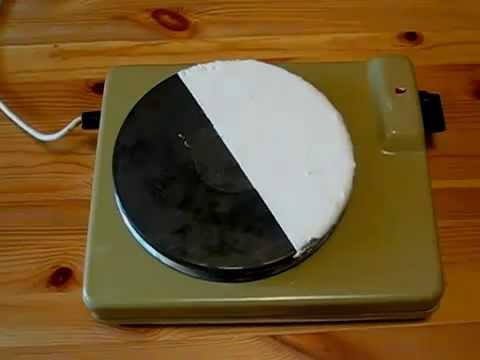 Эксперимент применение Изоллат с электро-плиткой