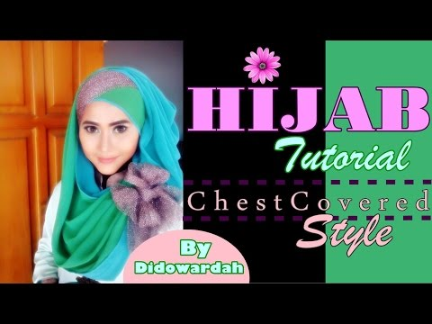 Tutorial Hijab Pesta Pashmina Menutup Dada by Didowardah #52 Musica ...