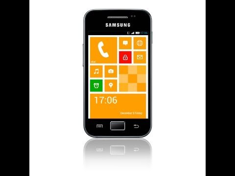 Jak wgrać Windows Phone na Samsunga Galaxy Ace