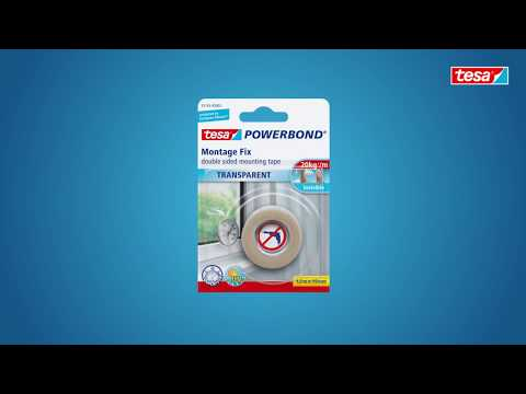 tesa Powerbond® TRANSPARENT - 55743