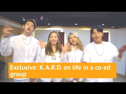 Exclusive: K.A.R.D. on life in a co-ed group