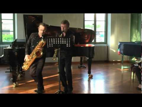 Claude Delangle and Fabrizio Paoletti Plays Bach