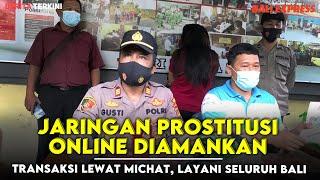 Jaringan Pr0stitusi Online diamankan , Transaksi Lewat MiChat, Layani Seluruh Bali
