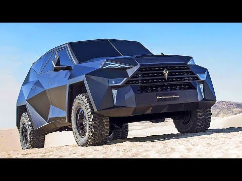 $3,8 Million SUV Karlmann King (2018) The World's Most Expensive SUV
