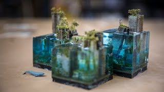 How to Make Miniature Underwater Dystopian Cityscapes!