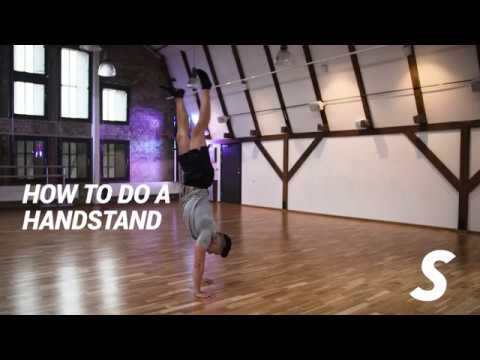 How to do a handstand - SATSELIXIA
