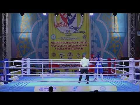 V Республиканская спартакиада по боксу среди женщин, г. Шымкент (17.05.2019).