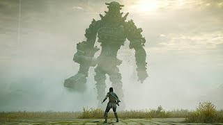 SHADOW OF THE COLOSSUS PS4 - 11 Minutes of Gameplay (Shadow of the Colossus Remake 2018)