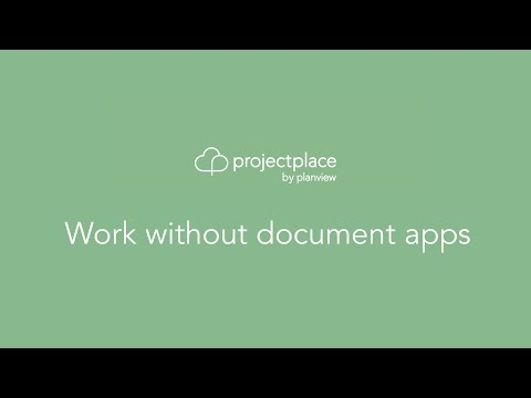 Work without document apps