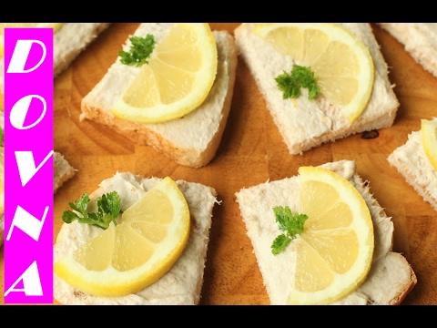 рыбный паштет за 2 минуты рецепт от Dovna