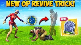 *NEW* SUPER OP REVIVE TRICK! - Fortnite Funny Fails and WTF Moments! #467