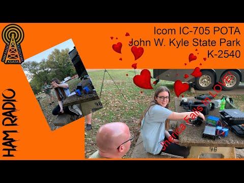 IC 705 POTA: John W. Kyle State Park K-2540