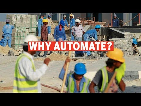 When automate, when labour is inexpensive?