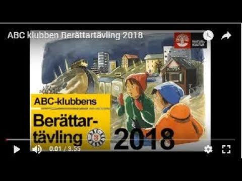 ABC-klubbens Berättartävling 2018