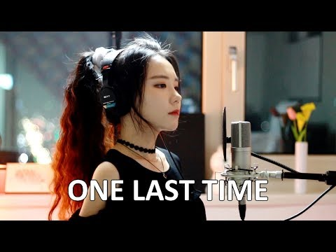 Me Singing - One Last Time by Ariana Grande - J.Fla cover