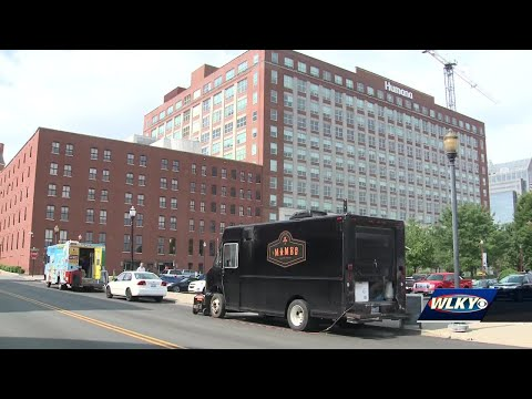 Food trucks business impacted by sewer line repairs in downtown Louisville