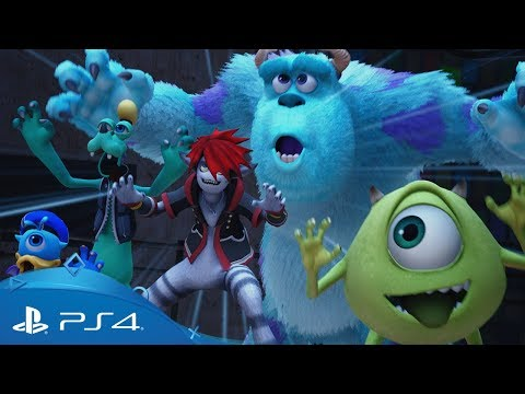 KINGDOM HEARTS III | D23 Tokio 2018 Monsters, Inc. -traileri | PS4