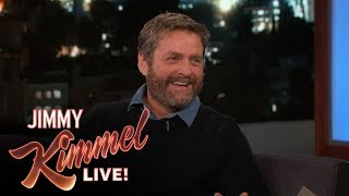 Zach Galifianakis Hired Russians to Help with Emmy Campaign