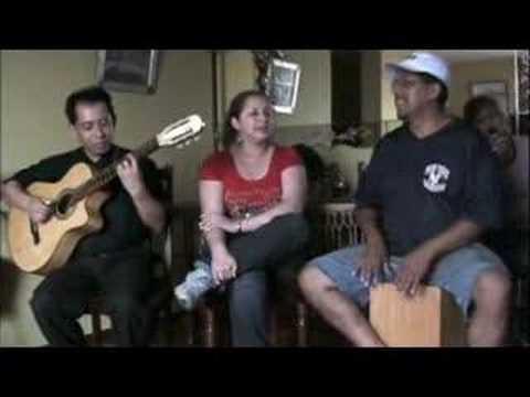 Si Me Amaras - Gina Rodriguez (Musica Criolla del Peru)