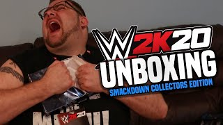Grim Unboxing WWE 2K20 Collectors Edition + WWE 2K20 Gameplay!