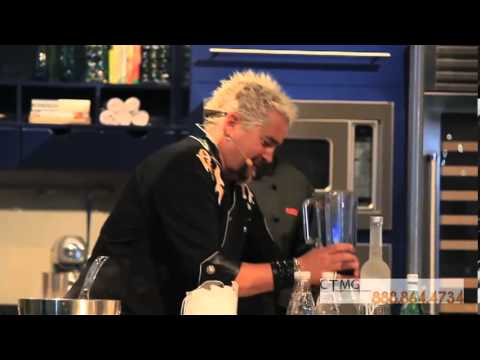 Booking Guy Fieri - Cooking Demonstration - YouTube