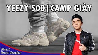 Review YEEZY 500. Giới trẻ Sài Gòn xếp hàng cả đêm để mua YEEZY 500, đúng hay sai? - Only Authentic.