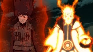 Naruto Used Different Hand Sign To Share His Chakra To Everyone And Saves The Shinobi Alliance